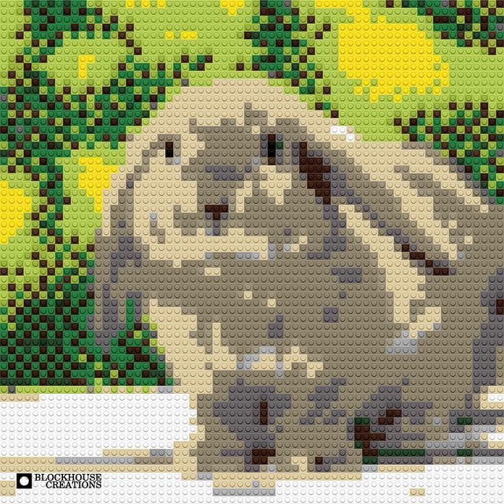 """Bunny, 20""""x20"""""""