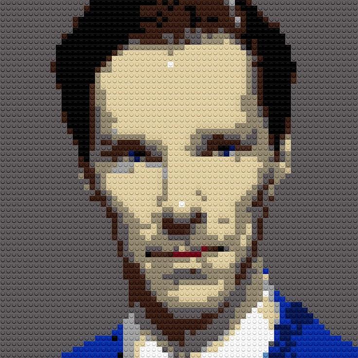 """Benedict Cumberbatch, 20""""x25"""""""