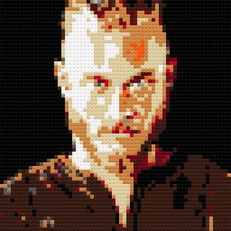 """Ragnar Lothbrok, 20""""x25"""""""