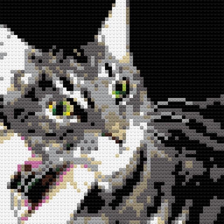 """Cat, 20""""x25"""""""