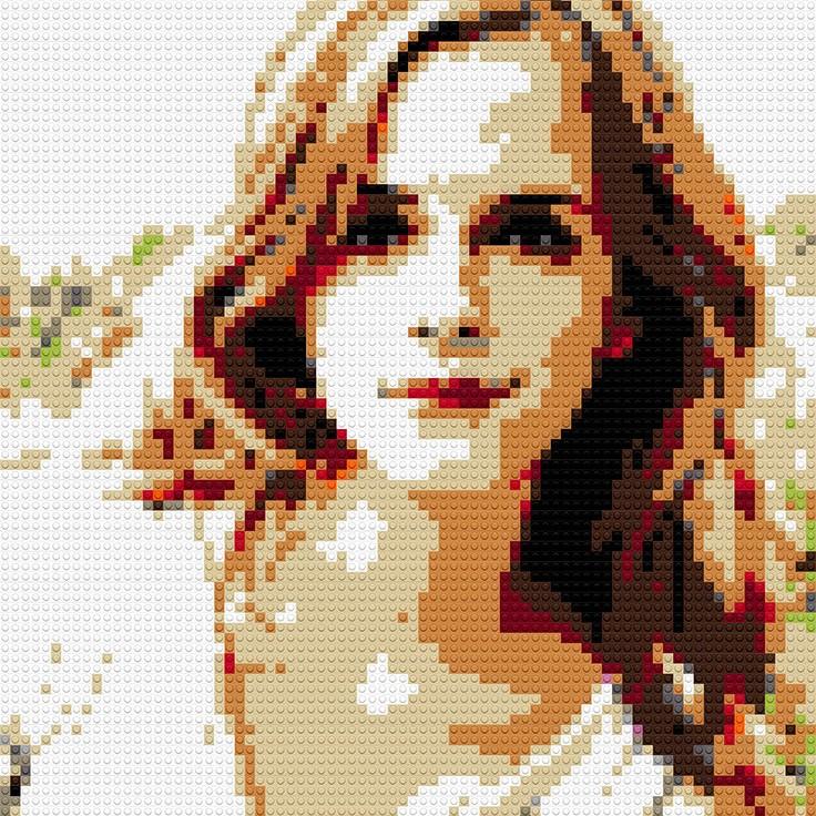 """Emma Watson, 25""""x30"""""""