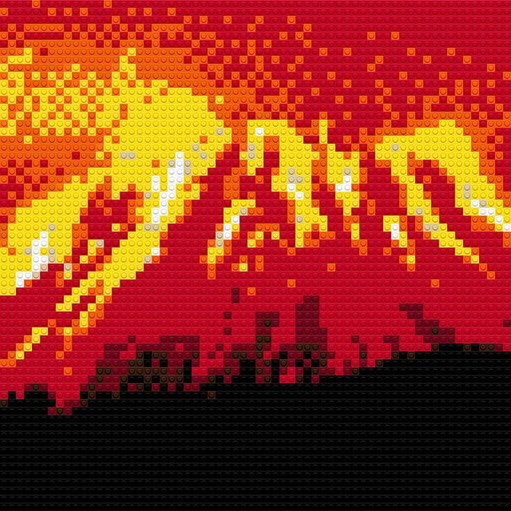 """Volcano, 30""""x20"""""""