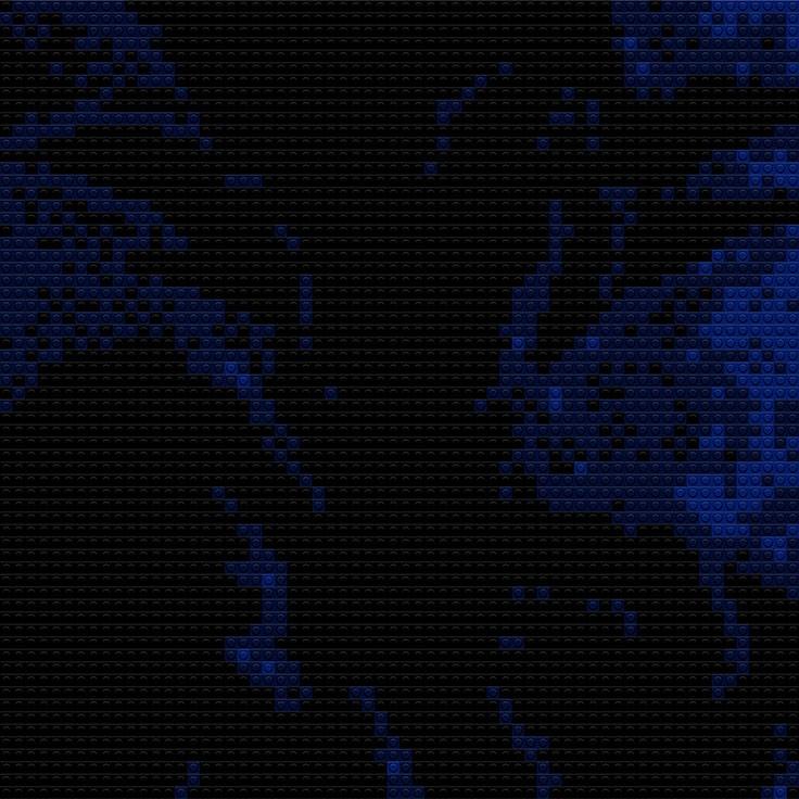 """Goku in Silhouette, 30""""x20"""""""
