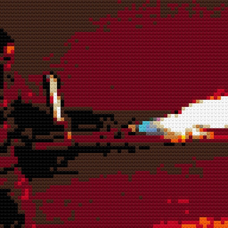 "XM42 Flamethrower, 35""x20"""