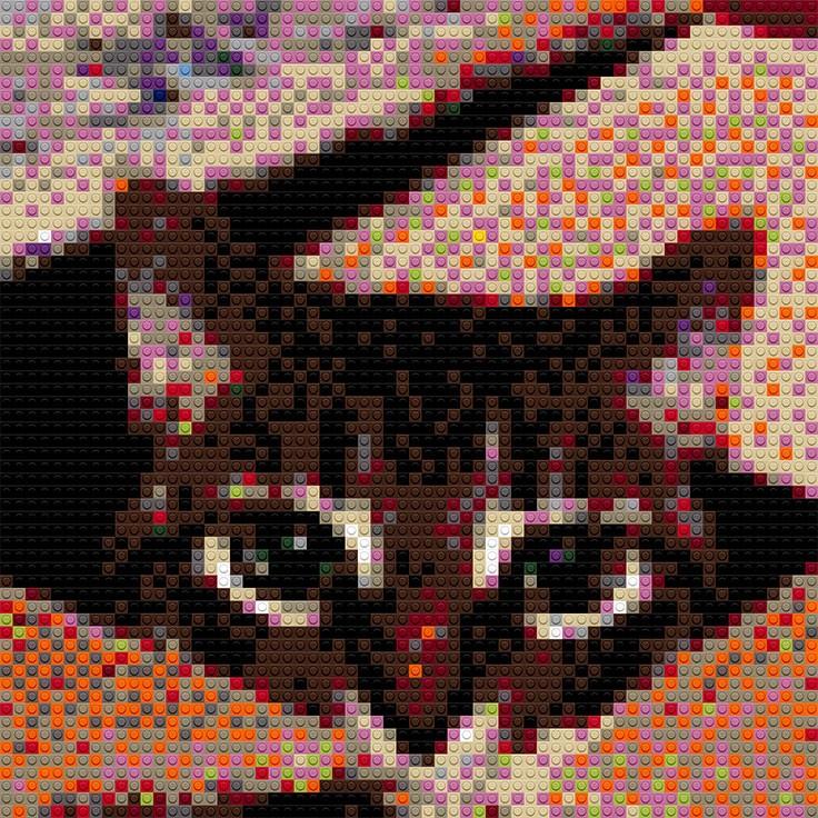 "Zoe the cat, 20""x30"""
