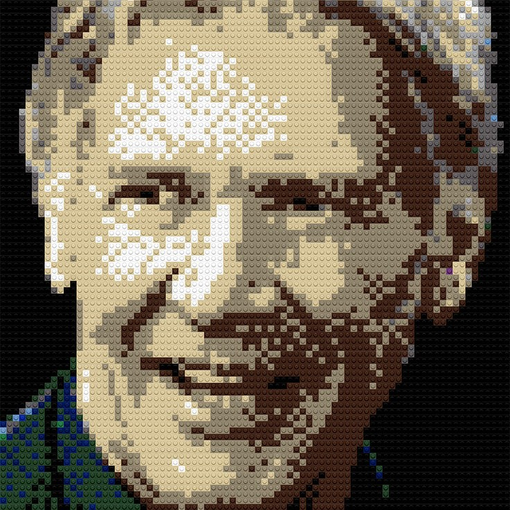 "Harrison Ford, 25""x30"""