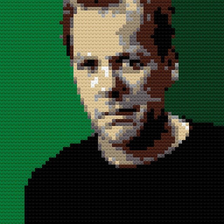 "Kiefer Sutherland, 20""x25"""